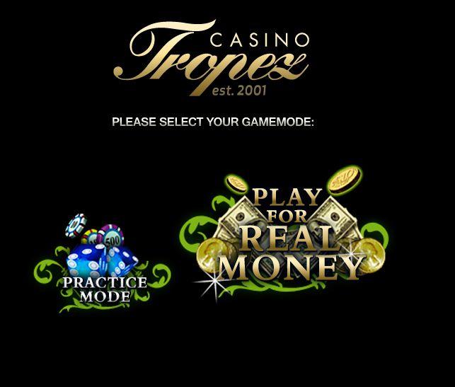 официальный сайт казино тропез отзывы игроков